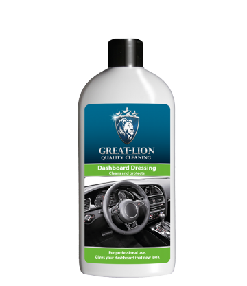 Great-Lion Dashboard Dressing - Cleans, Protects and dresses Interior plastics - 500ml